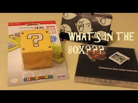 UNBOXING THE PDP QUESTION BOX NINTENDO 3DS GAME HOLDER