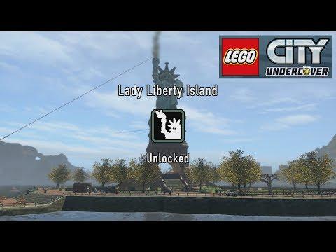 Unlocking Lady Liberty Island | Lego City Undercover Let's Play