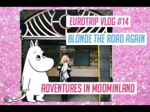 ADVENTURES IN MOOMINLAND AND SEEING AN AMAZING SHOW