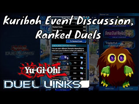 Yugioh Duel Links Season 2 Ep. 27 - Kuriboh Discussion, Ranked Duels