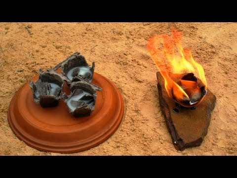 How to Make Fire Starters without Wax.  Homemade Egg Carton Fire Lighters.