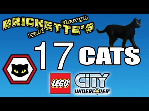 LEGO City: Undercover CATS RESCUED - All 17 + Cornelius Burns + other Collectibles (SEE DESCRIPTION)