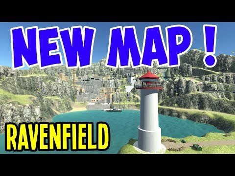 Ravenfield - SNIPING DIRTY REDS on the NEW COASTLINE MAP!  - Ravenfield Gameplay