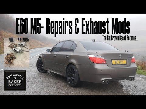 GTA 5 Mods - BMW M5 E60 Tuning und fahren - M5 Engine Mods