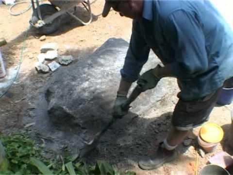 Artificial Fake Faux Concrete Rocks Video