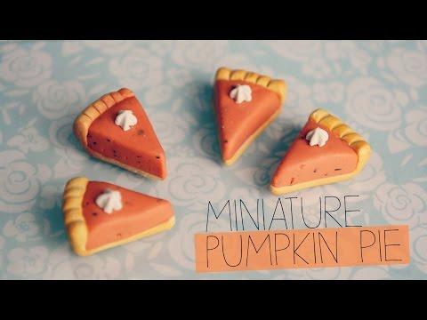 POLYMERCLAY: Miniature Pumpkin Pie