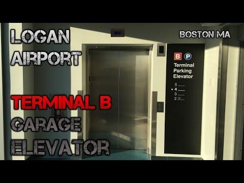 Elevator at Logan Airport Terminal B Parking Garage - Boston MA