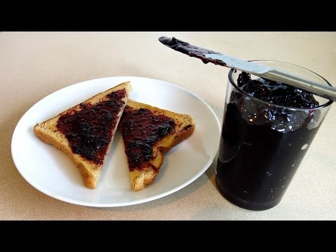 3 INGREDIENT BLUEBERRY JAM