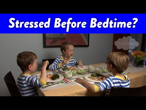 Stressed With Kids Before Bedtime? | CloudMom
