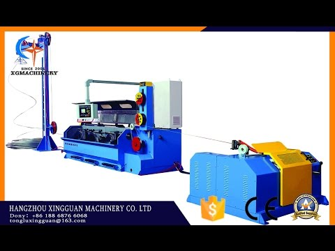 Aluminum wire breakdown machine drawing machine  (contact me: tongluxingguan@163.com)