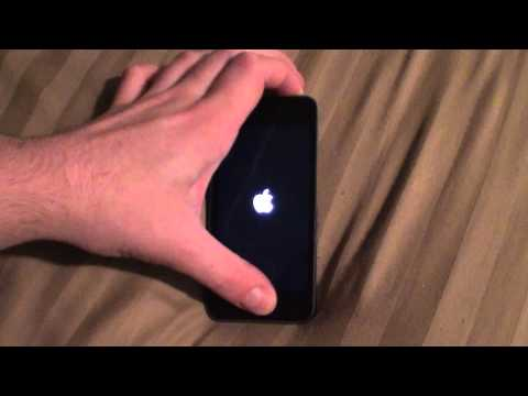how to turn on a dead ipod touch 5th gen