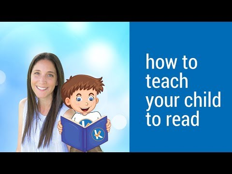 How to teach your child to read - Welcome to kickstart reading!