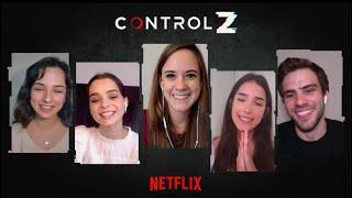 Entrevista Control Z | Juegos y preguntas con los protagonistas