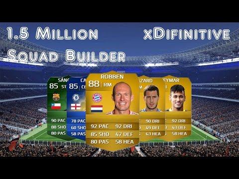 Fifa 14 - 1.5 Million Hybrid Squad Builder Ft. Robben, Neymar, iMOTM Sanchez and Hazard