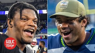 Ranking the top four NFL teams, College Football Playoff Committee-style | Golic & Wingo