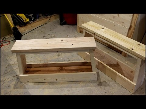 Multi-Functional Saw Horse Benches