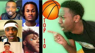 SO ALL THESE YOUTUBERS ARE BETTER THAN ME!!! REACTING TO THE TOP 10 BASKETBALL PLAYERS |TyTheGuy