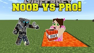 Minecraft: NOOB VS PRO!!! - TNT TAG! - Mini-Game