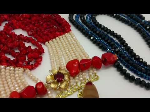 How to finish a necklace or bracelet