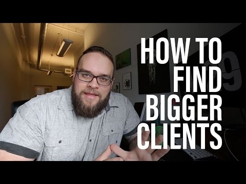 How To Get Bigger Design Clients - Awareness