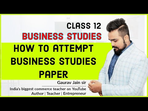Business plan:-How to attempt business paper and complete it before 3 hours