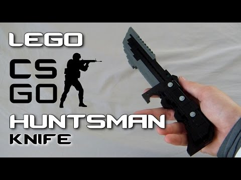 Counter-Strike: Global Offensive: LEGO Huntsman Knife