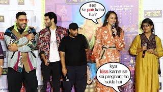 Sonakshi Sinha's Hilarious Reaction 2 Reporters WEIRD Question @Khandani Shafakhana Promotions