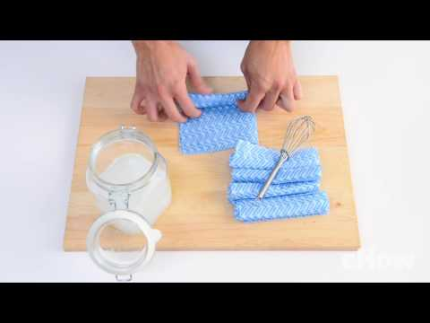 DIY Reusable Bathroom Cleaning Wipes