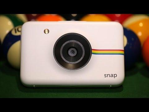 The Polaroid Snap is part digital camera, part printer