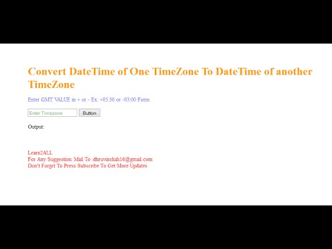 How to Convert DateTime of one TimeZone to DateTime of another Timezone in C#?