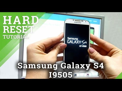 How to reset samsung s4 i9505 -