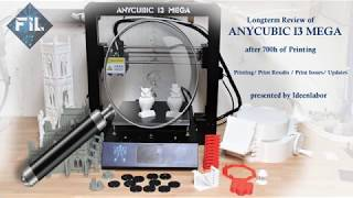 Anycubic i3 Mega: 1 year on plus quietness upgrades w