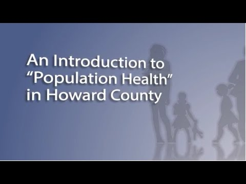 An Intro to Population Health in Howard County