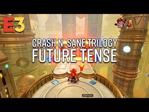 Crash Bandicoot N. Sane Trilogy New Level - Future Tense Gameplay