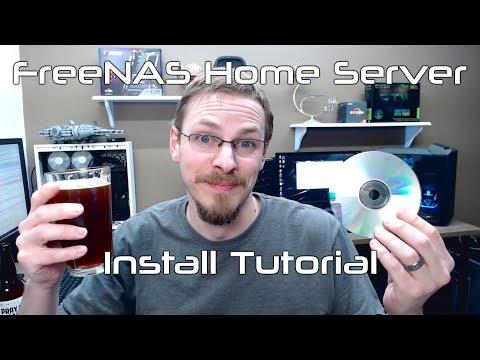 FreeNAS Home Server Tutorial