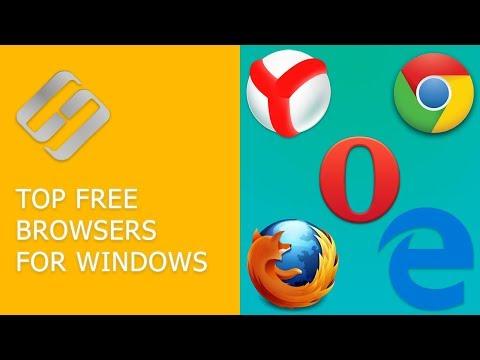 Top Free Browsers for Windows: Yandex Browser, Google Chrome, Microsoft Edge, Opera 🥇🌐💻