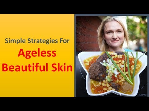 Simple Strategies for Ageless Beautiful Skin.|Wash the face two times daily.