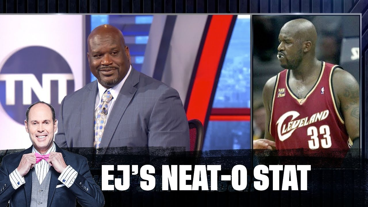 Shaq Gets Quizzed on His Old Jersey Numbers | EJ's Neat-O Stat