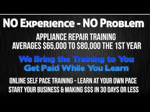 Appliance Repair Business - How to Start a Business that is Super Easy & Successful...