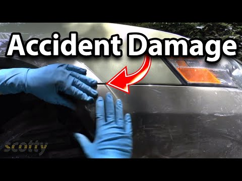 How to Repair Accident Damage to Your Car Fender