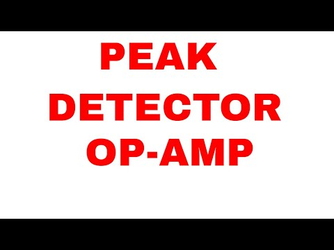 PEAK DETECTOR CIRCUIT USING OP AMP USING MULTISIM