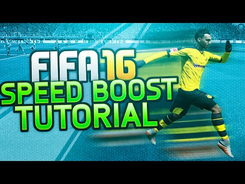 FIFA 16 SPEED BOOST TUTORIAL - HOW TO RUN - SPRINT FASTER / Best Attacking Moves / FUT & H2H