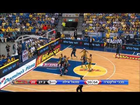 Highlights: Maccabi Electra Tel Aviv - Hapoel Eilat 97:75