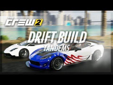 The Crew 2 - MONSTER Corvette Drift Build (Tandems w/Tomcat)