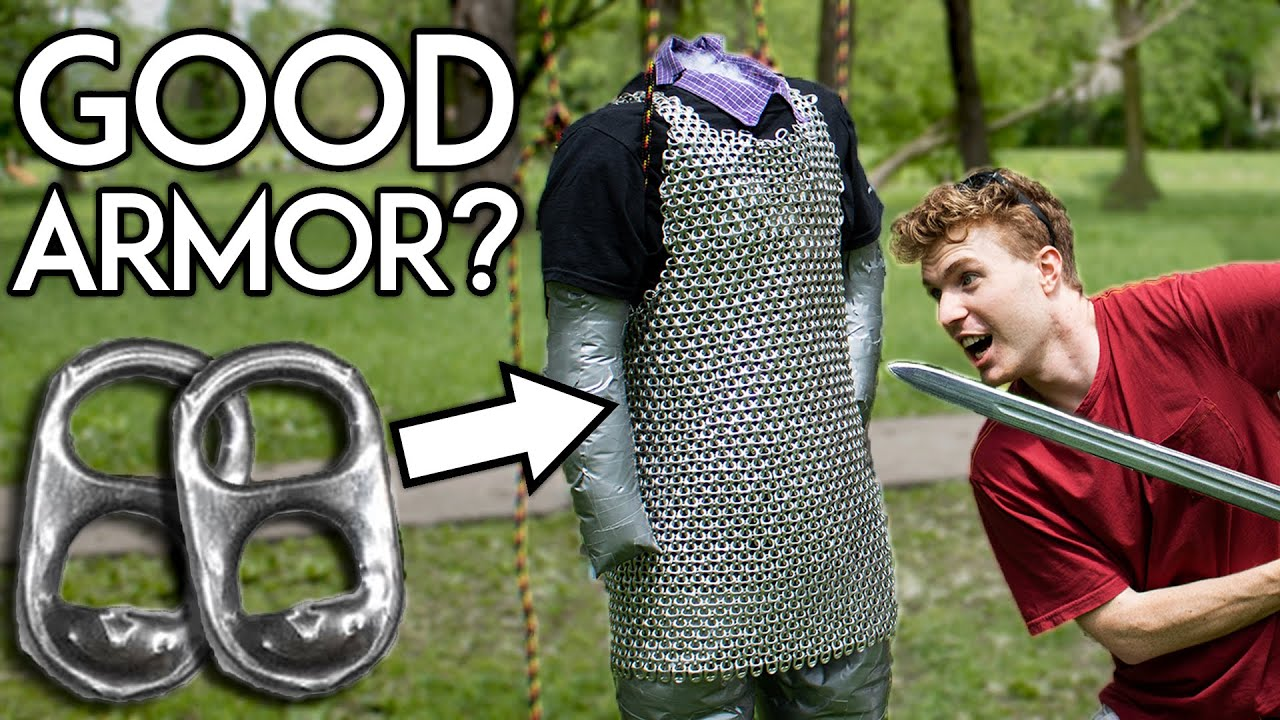 Would You Survive a Fight in Pop Tab Chainmail?