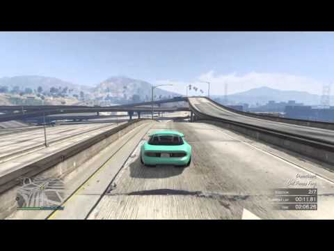 Emission Row Circuit GTA Online Sports Car Race