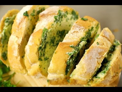Garlic bread recipe baguette