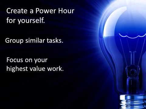 Twenty Minutes Can Change Your Life