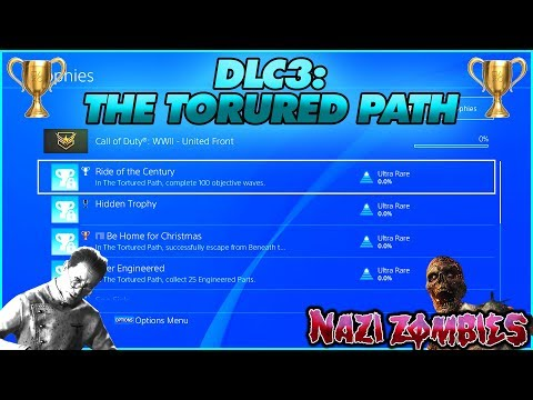 ​ *NEW* 'THE TORTURED PATH' TROPHIES RELEASED! | COD WW2 DLC 3 ZOMBIES UNITED FRONT ACHIEVEMENTS!