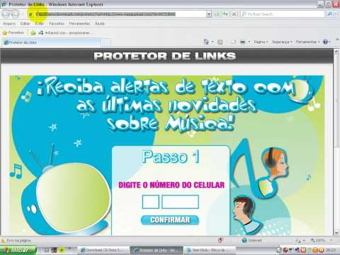 COMO PASSAR PELO PROTETOR DE LINKS SEM CADASTRAR O CELULAR (1º Método)